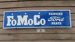 New Earlier Style Classic Ford Fomoco Parts Sign/garage/mancave Art 1'x46