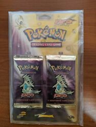 Pokemon Tcg Neo Destiny Rare Twin Blister Pack Wotc Vintage Collection Sealed