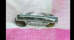 Sterling Silver Army Combat Infantry Badge 1 1/2 Pin  77