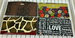 Miche Bag Cover Shell Wrap Lot 4 Fits Classic Purse Floral Breast Cancer Nwot