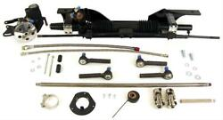 Unisteer Rack And Pinion Power Aluminum Black Ford Mustang Sm Block Ea