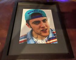 Malcolm Mac Miller Rapper Signed 8x10 Framed Matted Photo Autographed Coa 1