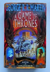 A Game Of Thrones True 1st Edition Song Of Ice And Fire 1 - George R R Martin Dj