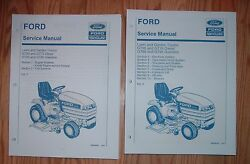 Ford Gt65 Gt75 Gt85 Gt95 Lawn And Garden Tractor And Engine Service Manuals Set
