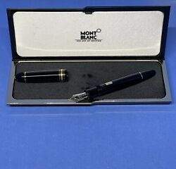 Vintage Mont Blanc 149 Fountain Pen Med Made In Germany
