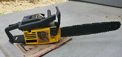 Mcculloch Timber Bear Chainsaw Excellent Condition 650 610 605