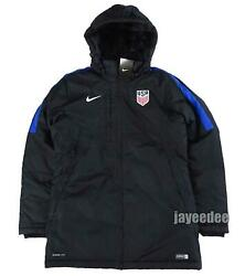 Nike Usa Uswnt Storm-fit Parka Jacket Soccer Women's Team Issue Exclusive L