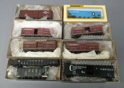 Roundhouse And Bachmann Ho Assorted Freight Cars [9]/box