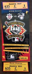 1994 Mlb All Star Game Full Ticket Signed By Mvp Fred Mcgriff - Psa Pop Of 16