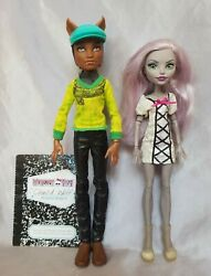 Clawd Wolf Moanica Dand039kay Doll Lot Redressed Monster High Diary Werewolf Zombie