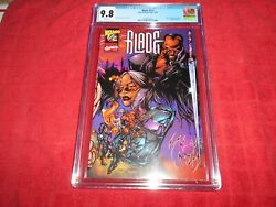 Blade 1/2 Cgc 9.8 Highest Graded Comes With Wizard Coa