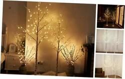 Easter Birch Tree Combo Kit, 5 Feet And 6 Feet, Pack Of 2,perfect For Indoor
