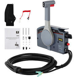 Outboard Remote Control Box For Yamaha 703-48205 Left Electric Start 10pin Push