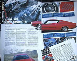 G 68 69 Ford Torino Gt Buyers Guide Info