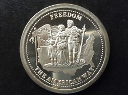 1986 Johnson Matthey Freedom Silver Medal A2705