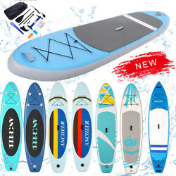 11/10and039 Inflatable Stand Up Paddle Board Sup Surfboard Non-slip With Complete Kit