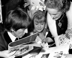Hayley Mills With Family And George Harrison Movie Star 8x10 Photo Lot Of 4 Lot D