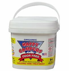 Happy Campers Organic Rv Holding Tank Treatment 64 Tratamientos