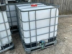 Pre Owned Schutz Ibc Liquid Fuel Containers 250 Gal