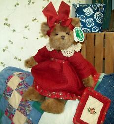 Myrtle W/quilt 14 Bearington Bear New 34.99 2006 Collectible W/tags 1788 Rare