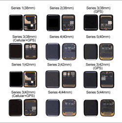 Lcd Display Touch Screen Digitizer For Apple Watch Iwatch Series 1 2 3 4 5 6 Lot
