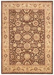 Hand-knotted Carpet 9'10 X 14'3 Traditional Vintage Wool Rug