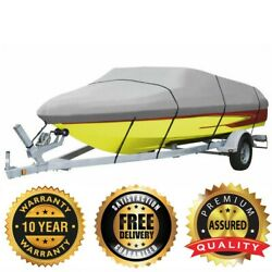 Boat Cover For Bayliner Ciera 2150 W/o Pulpit 2018 2019 2020 2021 Gray Color