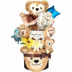 Diaper Cake [boy / Duffy Disney / 2-stage] S22 Sheet Pampers S Size To Baby Gi