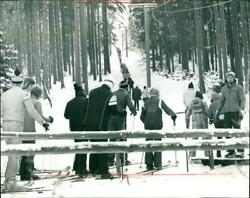 Skiers In The Taunus - Vintage Photograph 4080857