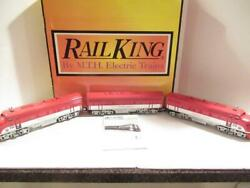 Mth Trains - 30-2385-1 Texas Special F-3 Aba Diesel Set Proto 2.0 - Ln -bxd- Hb1