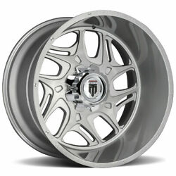 American Truxx At1900 Sweep 24x14 6x5.5/6x139.7 -76 Brushed Texture Wheels4 10