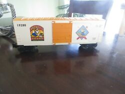 Mickey's Wheat H-cube Boxcar Diecast Lionel Electric Trains Mickey Mouse Train