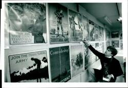 The Great War Posters On Sale. - Vintage Photograph 2017589