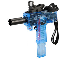Uzi-smg High Speed Shooting Soft Hollow Bullets Darts Gun Toy For Gift
