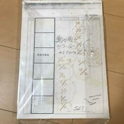 Novelty 89 Stories Production Physical Real Storyboards Sailor Moon