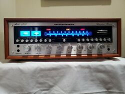Silver Marantz 2325 Receiver W/ Leds In Good Condition And Working Well