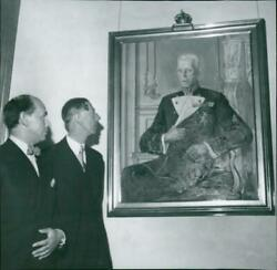 Professor Arvid Fougstedt And Wilhelm In Fro - Vintage Photograph 2904410