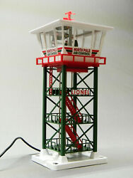 Lionel Santa Tracker Command Tower O Gauge Building Scenery Powered 2029210 New