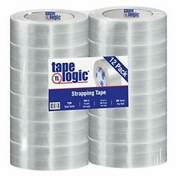 Aviditi Tape Logic 2 Inch X 60 Yards Reinforced Glass Filament Strapping Tape...