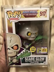 Funko Pop Masters Of The Universe Scare Glow 517 Sdcc2017 Rare+mint+protector