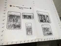 Abc Tv Studio Show Photo 1960s Outer Limits Sci Fi Monster Newspaper Ad Sheet 5