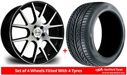 Alloy Wheels And Tyres 20 Riviera Rv185 For Audi Sq5 [fy] 18-20