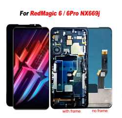 Oem For Zte Nubia Red Magic 6 6 Pro /5g Lcd Display Touch Screen Digitizer Frame