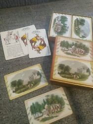 Guild Playing Cards W.p.c Co. Double Deck 1816 Victorian 1930's Extra Joker