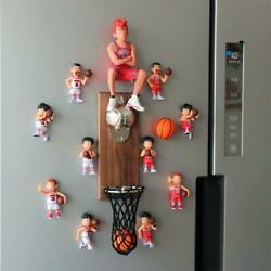 Creative Basketball Wall Mounted Action Figure Beer-bottle Opener Home Decorate
