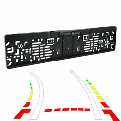 Dynamic Trajectory European License Plate Frame Rear View Camera System Qe Sm1