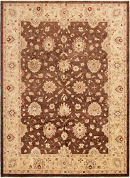 Hand-knotted Carpet 9'0 X 12'4 Traditional Vintage Wool Rug