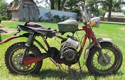 1971 Rupp Roadster 2   Vintage Mini Bike   Approx 75 Complete Good For Restore