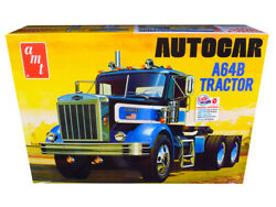 Skill 3 Model Kit Autocar A64b Tractor 1/25 Scale Model By Amt