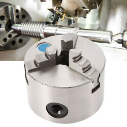 Self‑centering Lathe Chuck 3 Jaw Mini Lathe Chuck With Chuck Wrench Industrial